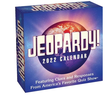 Jeopardy! 2022 Day-to-Day Calendar Cover Image