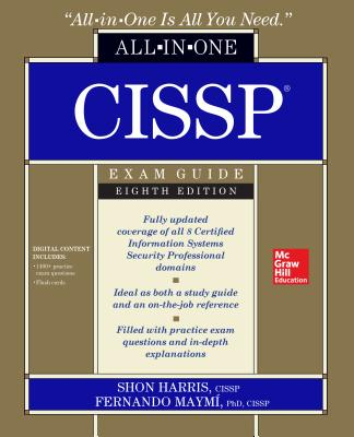 Cissp All-In-One Exam Guide, Eighth Edition Cover Image