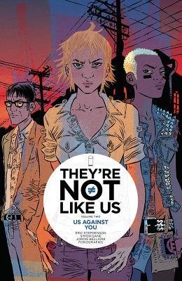 They're Not Like Us, Volume 2 Cover