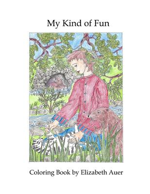 My Kind of Fun: Coloring Book Cover Image