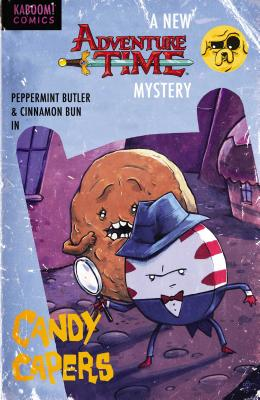 Adventure Time: Candy Capers Cover Image