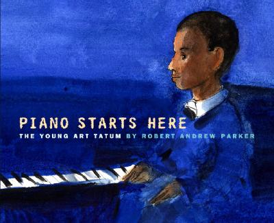 Piano Starts Here: The Young Art Tatum Cover Image