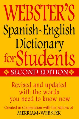 Webster's Spanish-English Dictionary for Students, Second Edition Cover Image