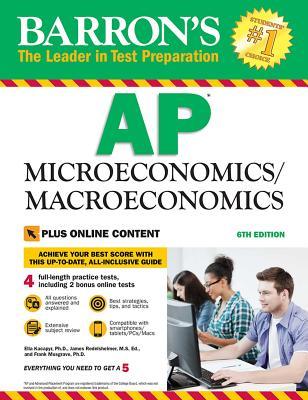 AP Microeconomics/Macroeconomics with Online Tests Cover Image