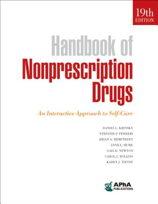 Handbook of Nonprescription Drugs: An Interactive Approach to Self-Care Cover Image