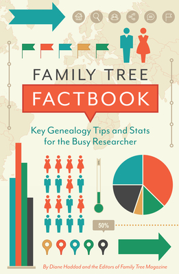 Family Tree Factbook: Key Genealogy Tips and STATS for the Busy Researcher Cover Image
