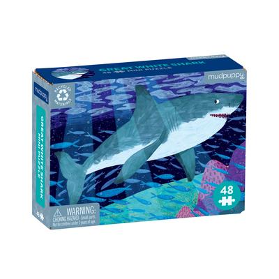 Puz 48 Mini Great White Shark Cover Image