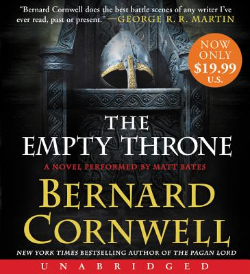 The Empty Throne Low Price CD: A Novel Cover Image