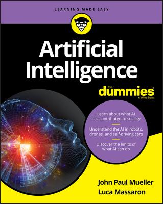 Artificial Intelligence for Dummies Cover Image