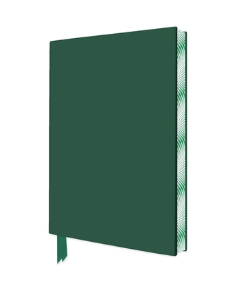 Racing Green Artisan Notebook (Flame Tree Journals) (Artisan Notebooks) Cover Image