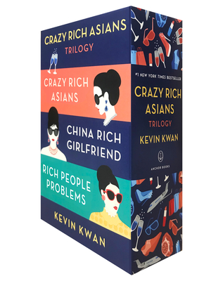The Crazy Rich Asians Trilogy Box Set Cover Image