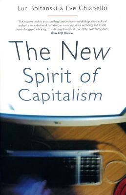 Cover for The New Spirit of Capitalism