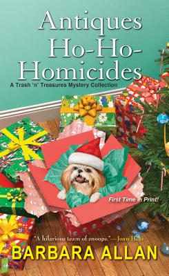 Antiques Ho-Ho-Homicides: A Trash 'n' Treasures Christmas Collection (A Trash 'n' Treasures Mystery) Cover Image