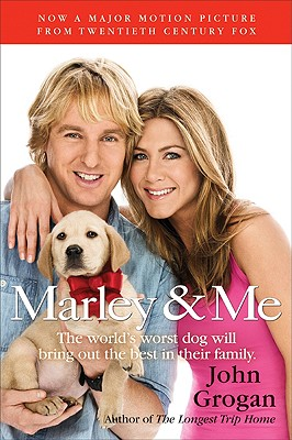 Marley & Me tie-in Cover