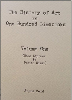 The History of Art in 100 Limericks: Vol 1 Cover Image