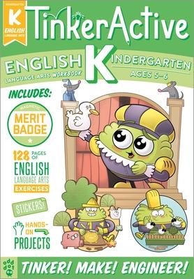 TinkerActive Workbooks: Kindergarten English Language Arts Cover Image