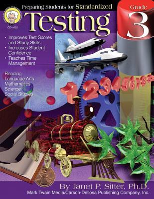 Preparing Students for Standardized Testing, Grade 3 Cover Image
