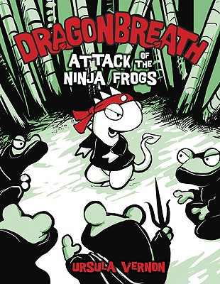 Dragon Breath:2 Attack of the Ninja Frogs Cover