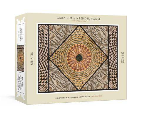 Mosaic Mind Bender 500-Piece Puzzle: An Ancient Roman Mosaic Jigsaw Puzzle & Mini-Poster Cover Image