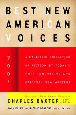 Best New American Voices 2001 Cover