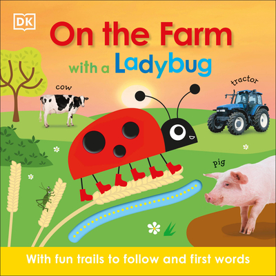Cover for On the Farm with a Ladybug