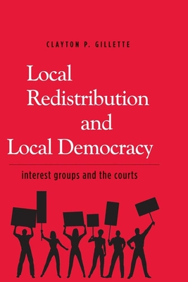 Cover for Local Redistribution and Local Democracy