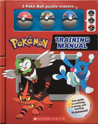 Training Manual (Pokémon Training Box with Poké Ball erasers) Cover Image