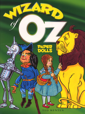 Wizard of Oz Paper Dolls (Dover Paper Dolls) Cover Image