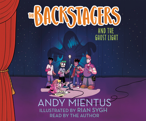 The Backstagers and the Ghost Light Cover Image