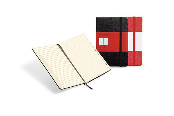 Moleskine Classic Desk Address Book, Large, Black, Hard Cover (5 x 8.25) (Classic Notebooks) Cover Image