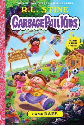 Cover for Camp Daze (Garbage Pail Kids Book 3)