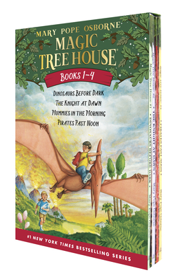 Magic Tree House Books 1-4 Boxed Set (Magic Tree House (R)) Cover Image