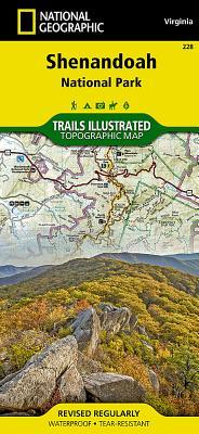 Shenandoah National Park (National Geographic Maps: Trails Illustrated #228) Cover Image