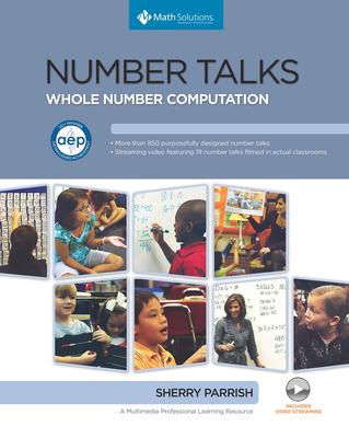 Number Talks: Whole Number Computation, Grades K-5 Cover Image