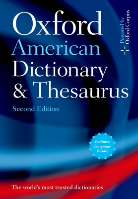 Oxford American Dictionary & Thesaurus, 2e Cover Image