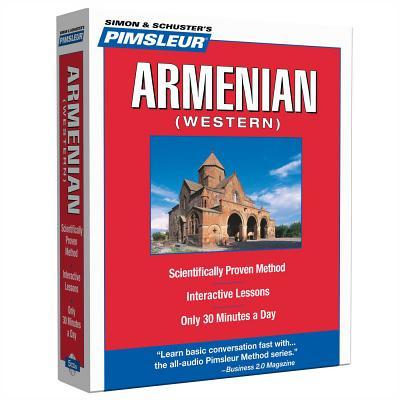 Pimsleur Armenian (Western) Level 1 CD: Learn to Speak and Understand Western Armenian with Pimsleur Language Programs (Compact #1) Cover Image