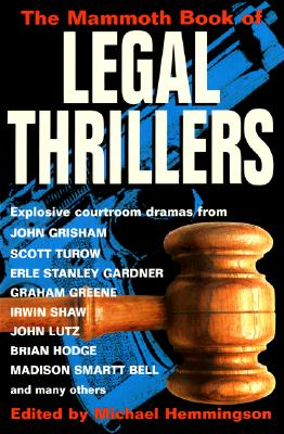 The Mammoth Book of Legal Thrillers Cover