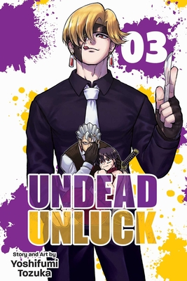Undead Unluck, Vol. 3 Cover Image