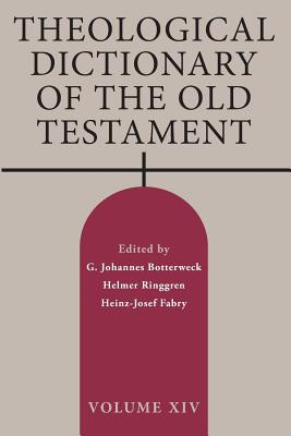 Theological Dictionary of the Old Testament, Volume XIV Cover Image