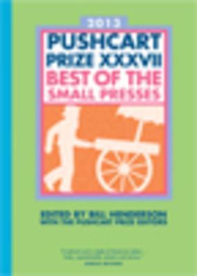 The Pushcart Prize XXXVII Cover