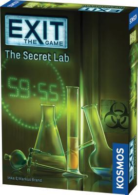 Exit the Secret Lab Cover Image