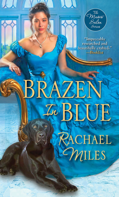 Brazen in Blue (The Muses' Salon Series #5) Cover Image