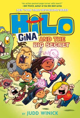 Hilo Book 8: Gina and the Big Secret Cover Image