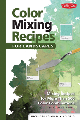 Color Mixing Recipes for Landscapes Cover