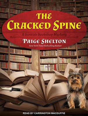 The Cracked Spine (Scottish Bookshop Mystery #1) Cover Image