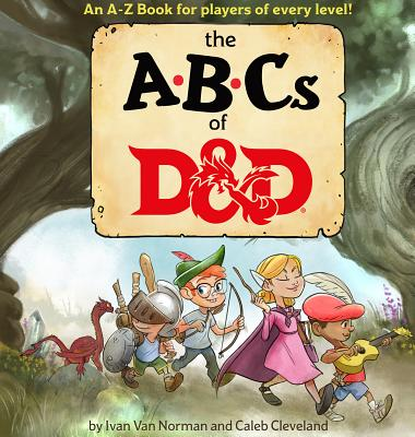 ABCs of D&D (Dungeons & Dragons Children's Book) Cover Image