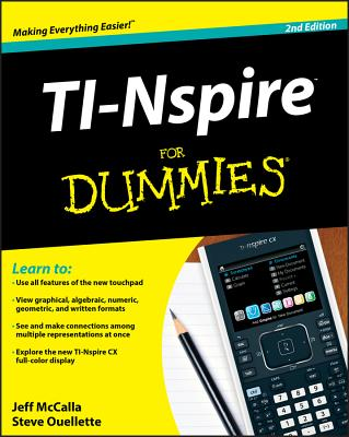 TI-Nspire for Dummies Cover Image