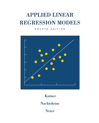 Applied Linear Regression Models [With CD-ROM] (Irwin/McGraw Hill Series) Cover Image