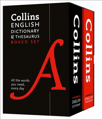 Collins English Dictionary and Thesaurus Set Cover Image