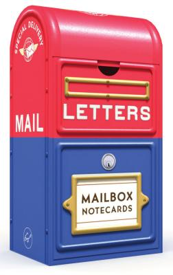 Mailbox Notecards: 20 notecards featuring stamps from the Smithsonian's National Postal Museum (Hipster Gift, Grandchild Gift, Godchild Gift, Holiday Gift) Cover Image